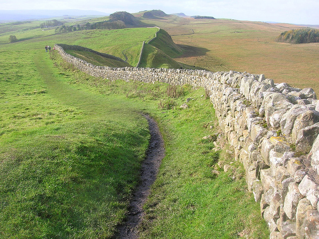 Hadrians wall - photo by quisnovus / Flickr
