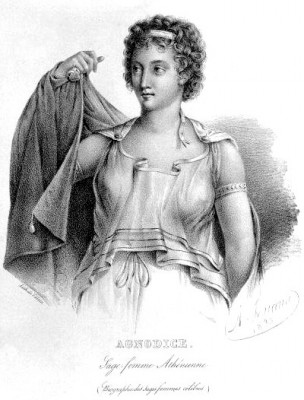 Agnodice the first female Athenian physician
