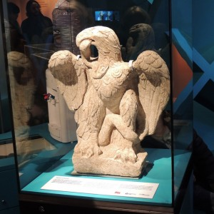 Roman Eagle at Museum of London - photo by quisnovus / Flickr