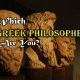 Let's turn back the clock and find out which famous Greek philosopher best describes your unique beliefs and convictions! Which school of thought will YOU belong to?