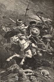 19th Century portrayal of the Huns as barbarians