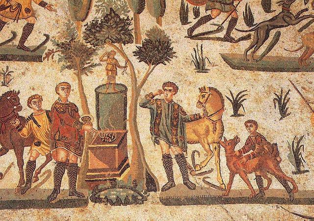 roman mosaics - Universidad Carlos III de Madrid