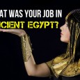 Ancient Egypt was a powerhouse of wealth and culture. Come rate yourself on the following scales and see what role you would've played in this fascinating civilization!