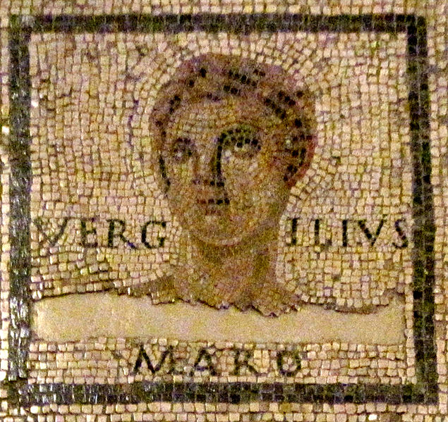 Vergil mosaic - photo by QuartierLatin1968 / wikipedia